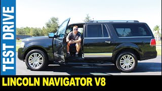 2012 Lincoln Navigator 5.4L V8 luxury large SUV leather seats driven by Jarek Clearwater Florida USA