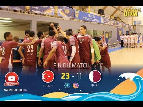 M25 GroupA I TURKEY-QATAR I Mondialito2017 19/01