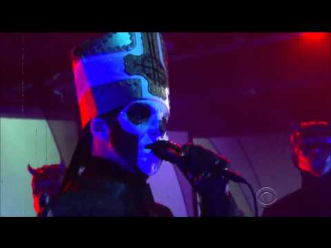Ghost Performs Cirice on Late Show with Colbert