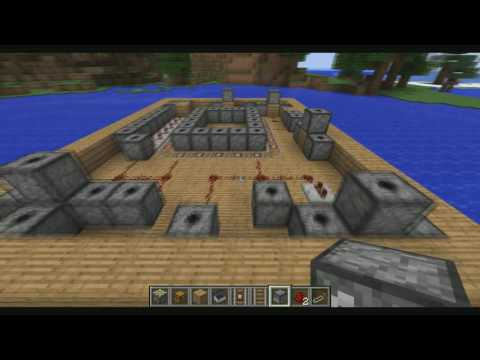 Redstone Inventions [The Firework Barge]