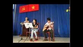 Gặp mẹ trong mơ guitar (Mai Ngân + Thanh Tuấn) -  Lớp nhạc Giáng Sol