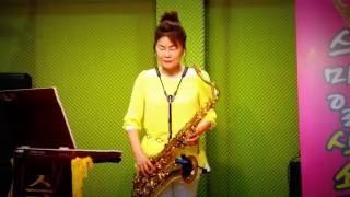 장선희색소폰~감나무골(나훈아 )테너
