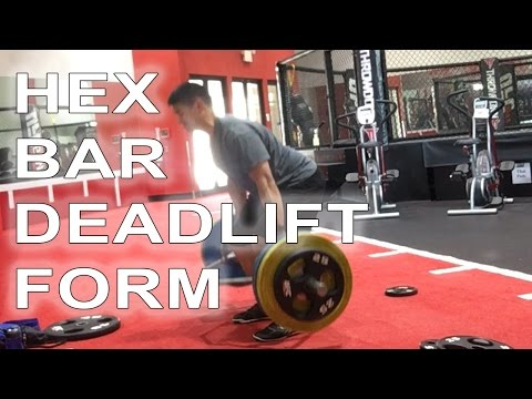 Hex Bar Deadlift Form