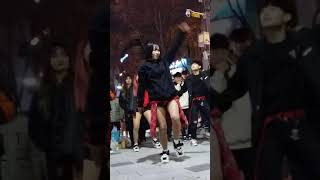 2017.12.10&걷고싶은거리&홍대&할리스커피앞&버스킹&여성댄스팀&Diana&by큰별