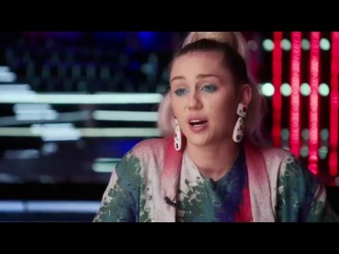 Miley Cyrus on The Voice! - TheVoice 10