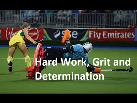 """Hard Work, Grit and Determination"" 