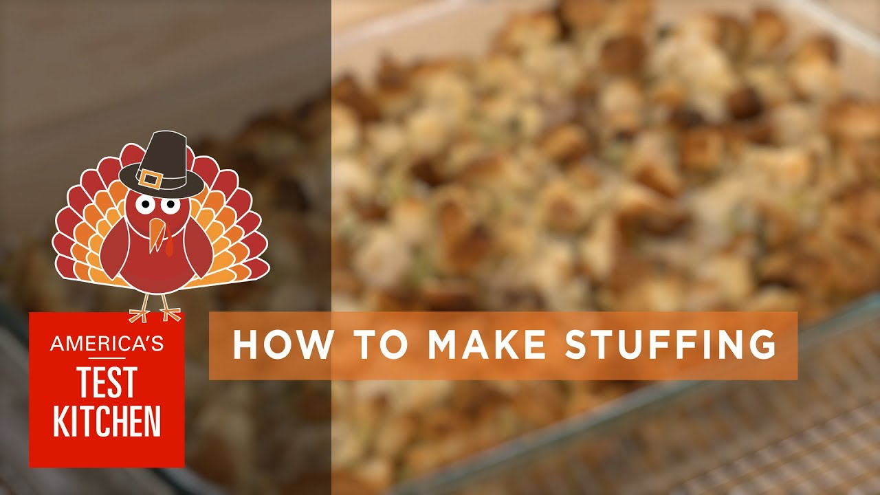Best Thanksgiving How To Make The Best Stuffing