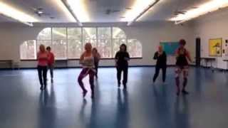 Zumba High By Francesca Maria - Choreo By Zin Margarita Dawson - Zumba High Contest February 2015