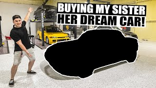 BUYING MY LITTLE SISTER HER DREAM CAR! (It's a secret!)