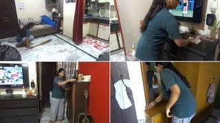 My Morning home Cleaning Routine || Indian mom daily home cleaning Routine 2018.speedy cleaning.