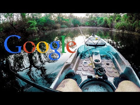 How To Find SECRET Fishing Spots With GOOGLE MAPS - So Happy I Found This Place!