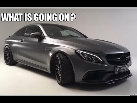 My Friend Owns The ONLY 2018 AMG C63s In North America! Now They
