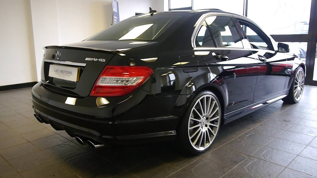 2009 59 mercedes c63 amg saloon for sale lkc motors youtube. Black Bedroom Furniture Sets. Home Design Ideas