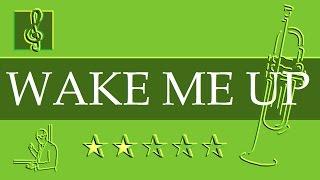 Trumpet Notes Tutorial - Wake Me Up - Avicii (Sheet Music)