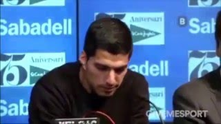 Barcelona star Luis Suarez breaks down in tears over sick fan
