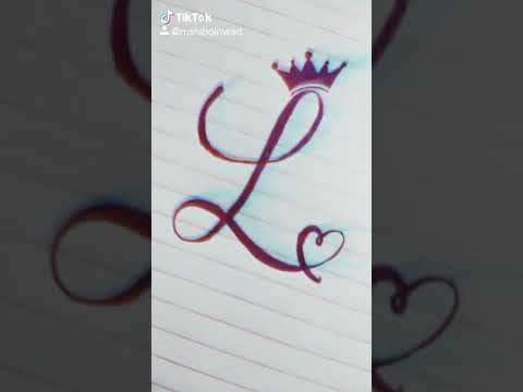 L Letter Tattoo Youtube