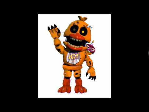 Fnaf World - Nightmare Chicas original voice (Foxy Fighters)