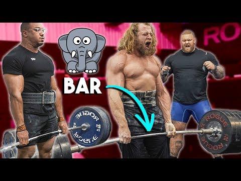 Deadlift Heavier On Elephant Bar? Thor, Larry Wheels, Jujimufu, BTC