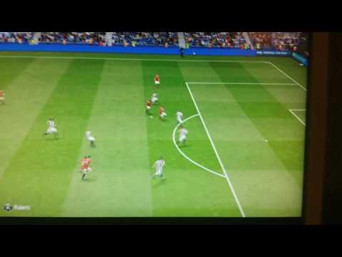 Goal Paul Pogba on manchester united fifa...