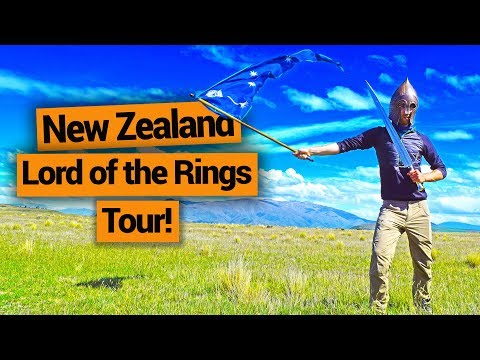 New Zealand Lord of the Rings Tour in Twizel –  New Zealand's Biggest Gap Year – BackpackerGuide.NZ