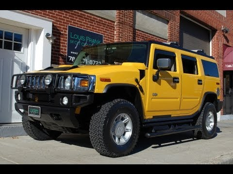 2003 HUMMER H2 RARE Yellow/Wheat Walk-around Presentation at Louis