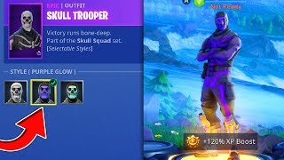 How To Get PURPLE SKULL TROOPER in Fortnite Battle Royale!