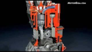 motor mce 5 vcr i con ratio de compresión variable