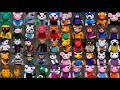 All the Roblox Piggy I've made so far... THEY ARE 50! ★ Polymer Clay Sculptures