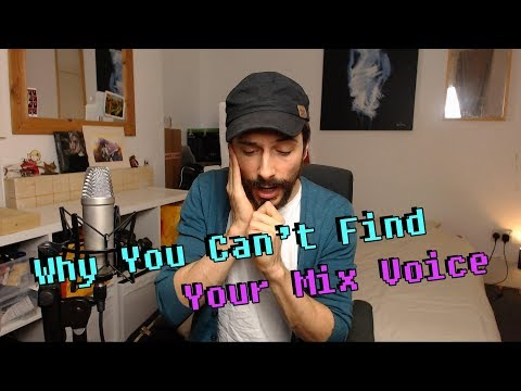 Why You Can't Find Your Mix Voice - Singing