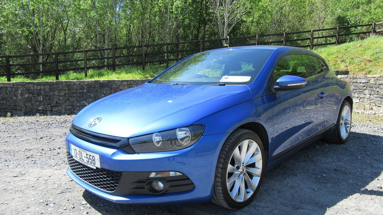 review test drive 2012 volkswagen scirocco youtube. Black Bedroom Furniture Sets. Home Design Ideas
