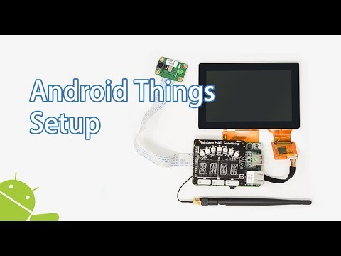 How to setup Android Things with Pico Pro Maker Kit