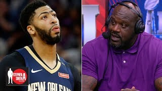 Anthony Davis should stay in New Orleans for the money - Shaq | Stephen A. Smith Show Video
