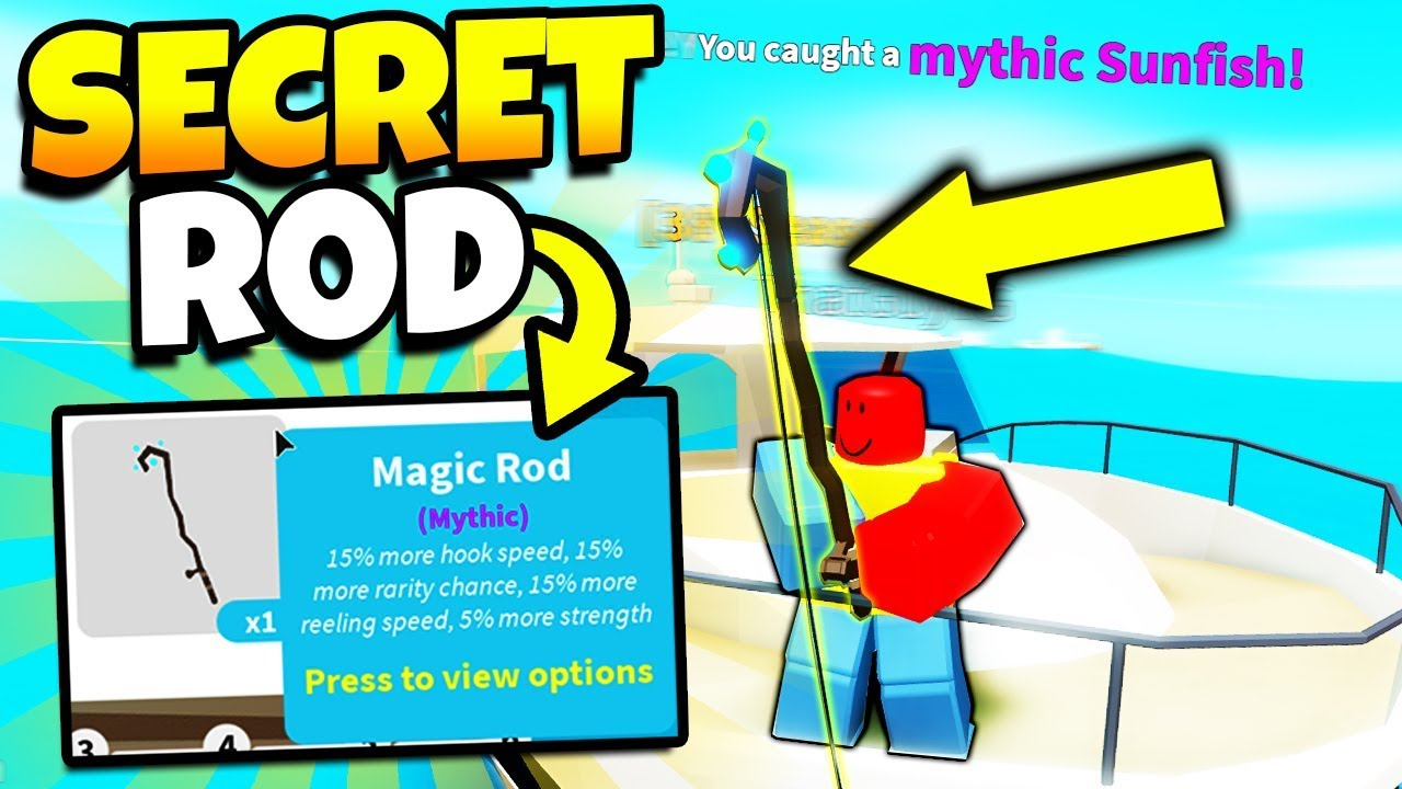 How To Get Mythical Fish Every Time With Secret Fishing Rod