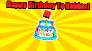 Happy 12Th Birthday To Roblox! (How to Get Exclusive Promo Code Birthday Cake)