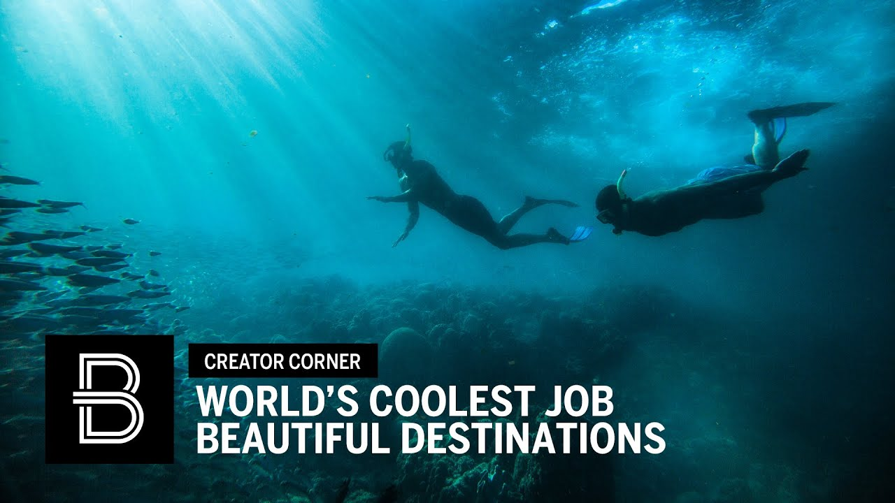 Beautiful Destinations: The World's Coolest Job