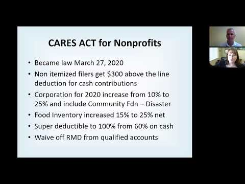 CARES ACT For Nonprofits
