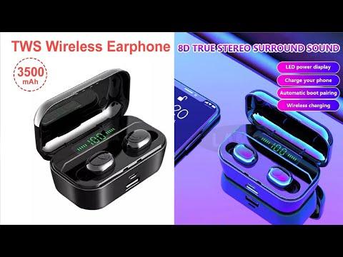 🎧 Беспроводные наушники с AliExpress - G6S - TWS Wireless Earphone - подробная инструкция