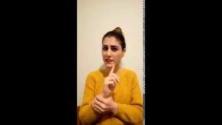 VOLKAN KONAK-ALENİ ALENİ (İŞARET DİLİ)
