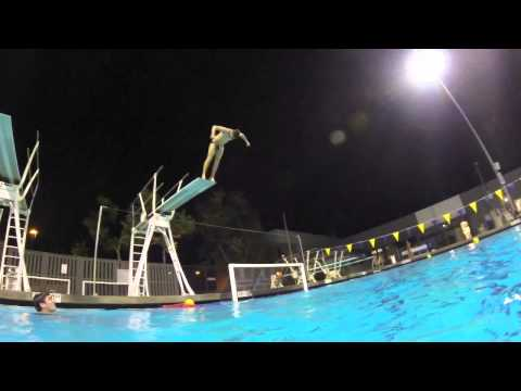 Messin Around With The GoPro At The Pool... Again