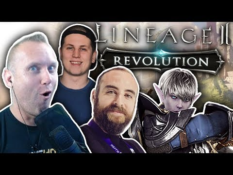 MAX LEVEL MADNESS – Lineage 2: Revolution PvP & Dungeon Gameplay w/ Bajheera & Hogmanlolz