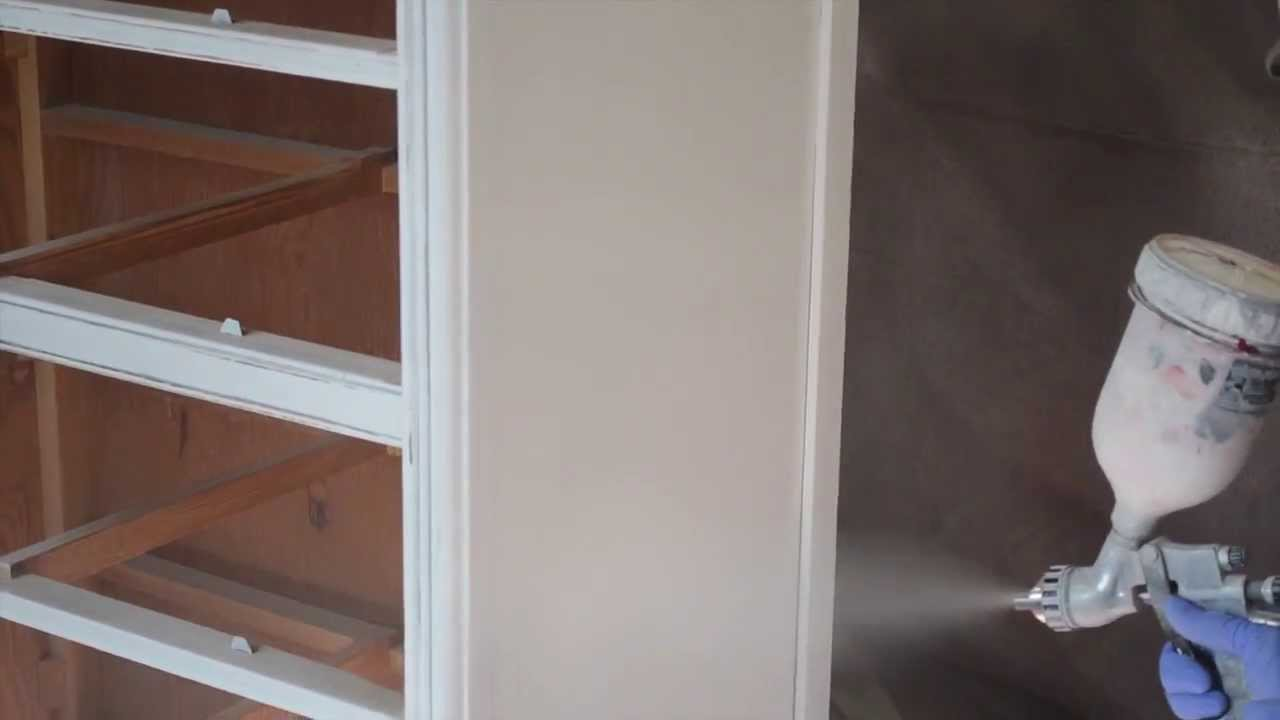 furniture paint sprayerHow to paint furniture with a spray gun  YouTube