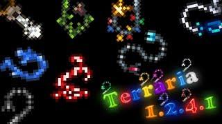 как сделать крюк кошку в игре terraria