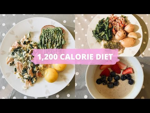 WHAT I EAT IN A DAY FOR WEIGHT LOSS || 1200 CALORIE DIET PLAN