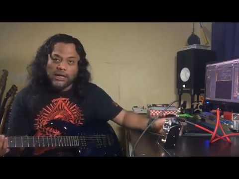 recording using guitar preamp di box vst cab simulator youtube. Black Bedroom Furniture Sets. Home Design Ideas