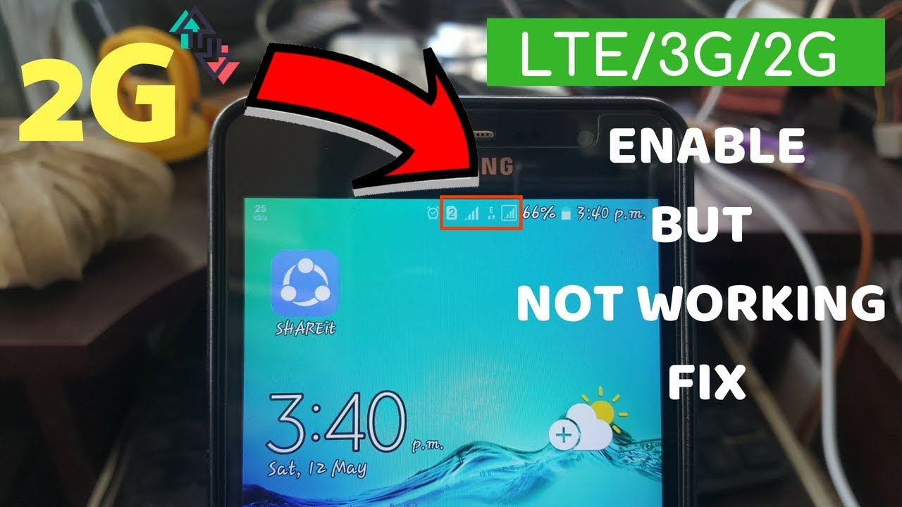 4G/3G Smartphone But 2G Internet (Mobile Data) Problem Fix