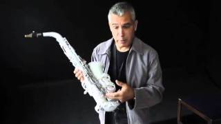 Plastic sax can handle the notes
