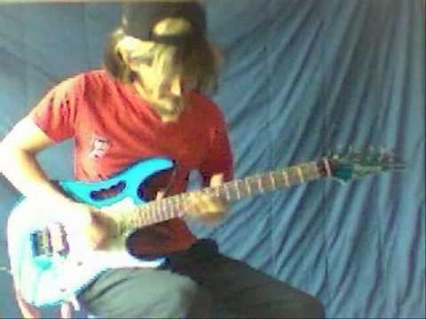 Joe Satriani - Flying In A Blue Dream - Guitar performance by Cesar Huesca