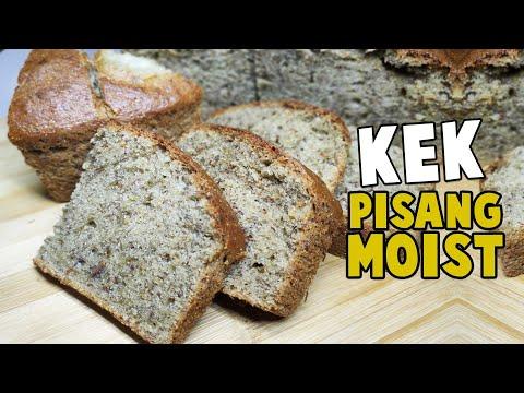 kek-pisang-moist-dan-gebu-|-simple-dan-sedap