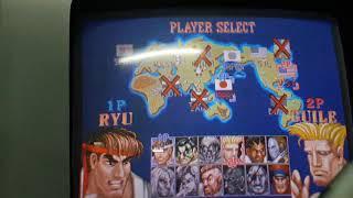 SF2:HF Solo (Ryu) vs Cory (Sagat / Guile)