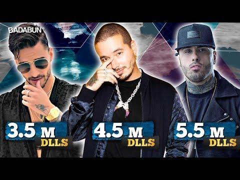 Los 10 reggaetoneros